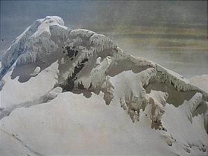 Margherita peak , 5109m photo by Vittorio Sella.